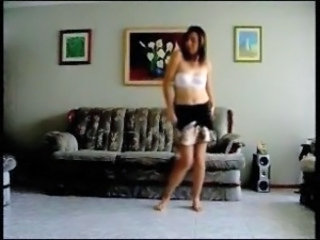 Amateur Dancing Homemade Stripper Teen