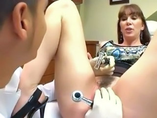 Cute Doctor Hairy MILF