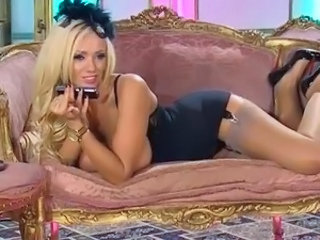 Amazing Blonde British Cute European MILF Pornstar Stockings
