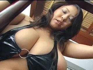 Amazing Asian Big Tits Bikini Chubby MILF Natural