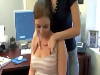 Glasses Lesbian Office Secretary Teen