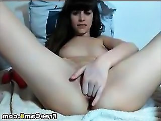 Masturbating Skinny Solo Teen Webcam