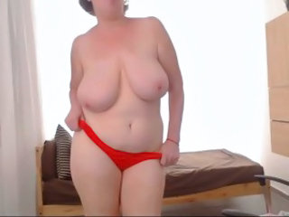 Big Tits Chubby MILF Natural Panty SaggyTits Stripper