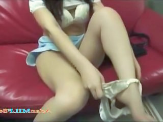 Asian Bus Legs MILF