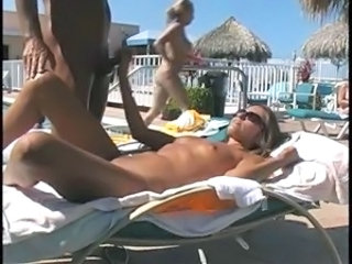 Beach Handjob Nudist Outdoor Public Voyeur
