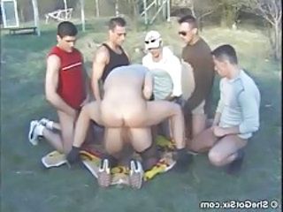Anal Doggystyle Gangbang Hardcore Outdoor Stockings