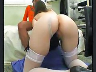 Ass Blowjob Lingerie Stockings