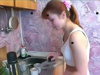 Daddy Kitchen Russian Teen