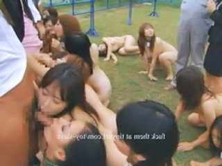 Asian Blowjob Groupsex Orgy Slave Train