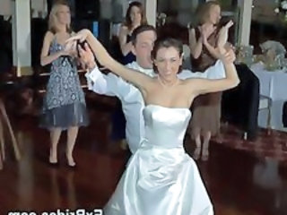 Amateur Bride Dancing Drunk Party