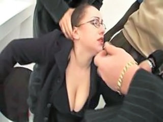 Glasses MILF Natural Pov Secretary