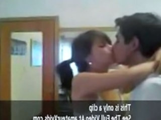 Indian Kissing Student