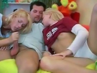 Blowjob Teen Threesome Twins