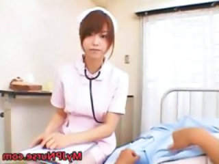 Amazing Asian Cute Japanese Nurse Teen Uniform