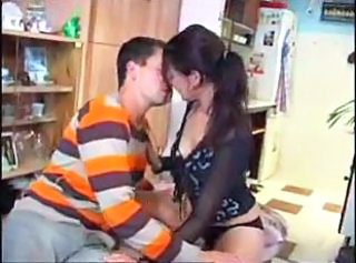 Amateur European Girlfriend Kissing Teen