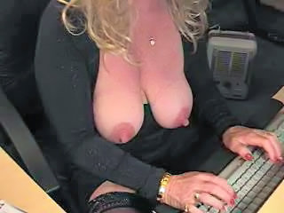 Big Tits Mature Office SaggyTits Secretary