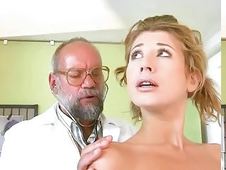 Cute Daddy Doctor Old and Young Teen