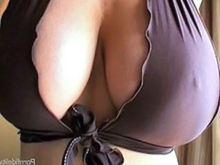 Amazing Big Tits Bus MILF Natural SaggyTits