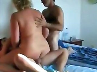 Amateur Cuckold Mature Riding Threesome Wife