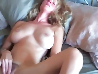 Hairy Masturbating MILF Natural