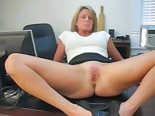 Mature Office Pussy Secretary Shaved