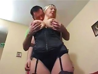 Big Tits British Corset European Lingerie Mature Mom Natural