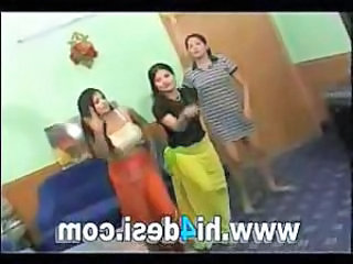 Dancing Indian Threesome
