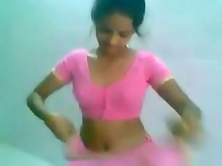Dancing Indian Teen