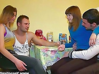 Kitchen Russian Swingers Teen