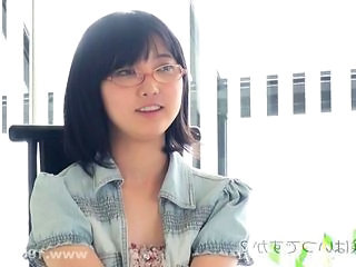 Asian Cute Glasses Japanese Teen