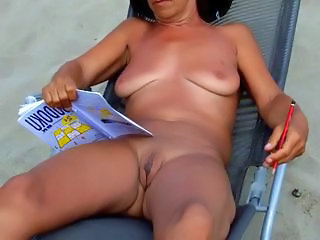 Amateur Beach Mature Nudist Outdoor SaggyTits