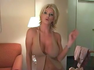 Amateur Amazing Big Tits MILF Smoking