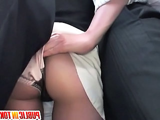 Very nice milf bus action in all directions hardcore fucking