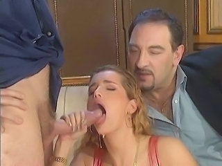 Big cock Blowjob MILF Threesome Vintage