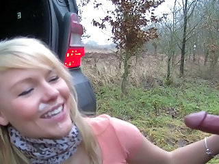 Amateur Car Cumshot Facial Outdoor Teen