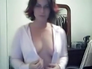 Glasses MILF Stripper Webcam Wife