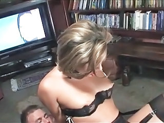 British European Lingerie MILF Riding