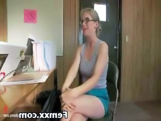 Forced Glasses Office Teen