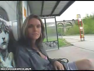 Amateur Cash MILF Outdoor Pov Public