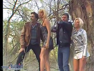 Groupsex Outdoor Vintage