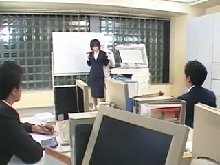 Asian Fetish Office Secretary