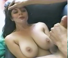 Big Tits Cumshot Facial MILF Natural Swallow