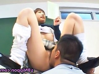 Asian Clothed Cute Licking Student Teen