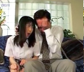 Asian Daddy Daughter Japanese Old and Young Student