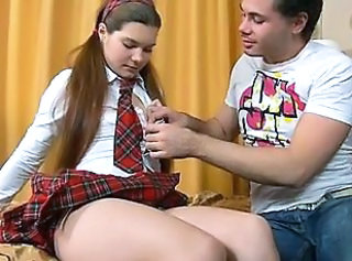 Long hair Student Teen Uniform