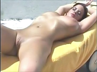 Babe Man Outdoor Pussy Shaved