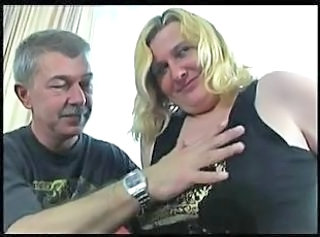 BBW Blonde Chubby Daddy Daughter Old and Young