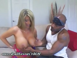Big Tits Interracial MILF Wife