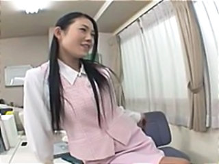 Asian Cute Office Teen Young