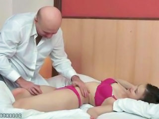 Cute Daddy Lingerie Old and Young Teen